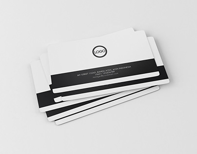 Business Card Mock-Up Free