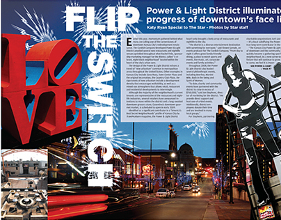 Center Spreads from the Urban Living publication