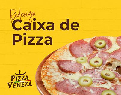 Redesign | Caixa de Pizza - Pizza Veneza