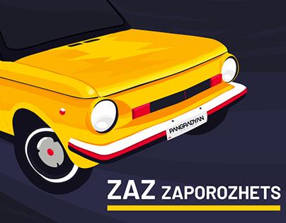 Soviet Cars: ZAZ Zaporozhets 968