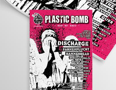 PLASTIC BOMB #95 Fanzine Cover