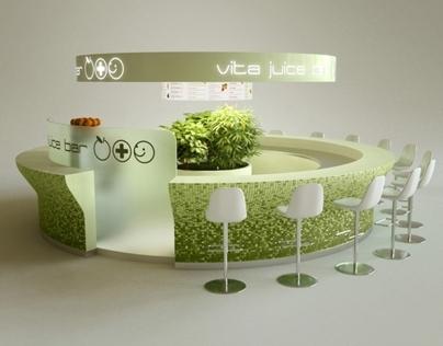 Vita Juice bar, Budapest, Hungary 2007-2010