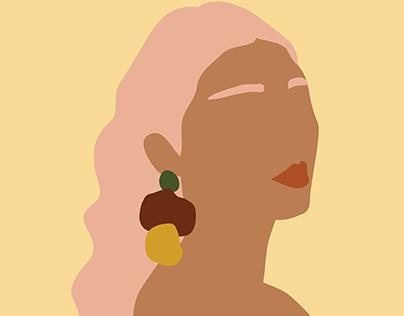 Earing Design- Mandy September Art
