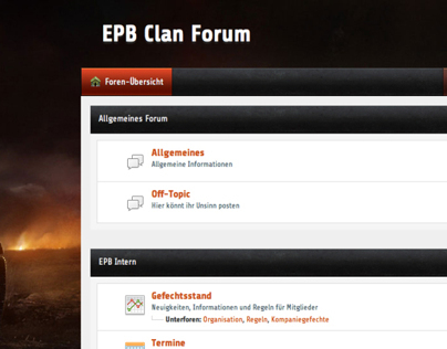 EPB Clan Forum Theme