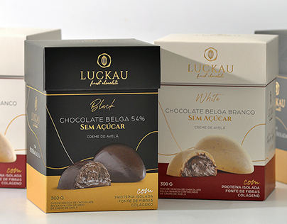 Luckau Black & White - Packaging