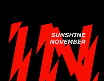 Sunshine In November