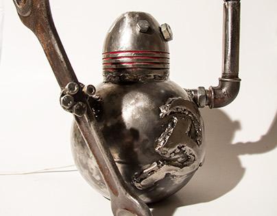 EugeneX - CCCP robot lamp