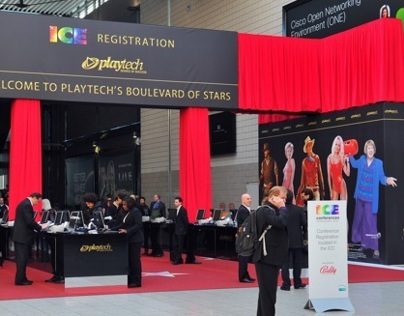 Booth Design and Exhibitions for Playtech