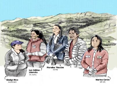Mujeres y ruralidad en Bogotá / CINEP-PPP