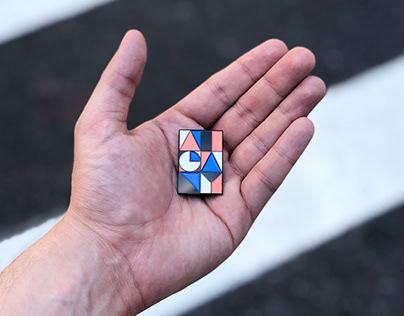 AIGA NY Pin