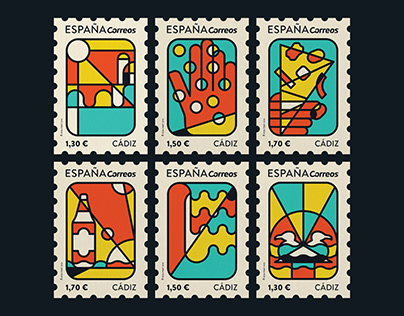 Stamps / Cádiz Collection