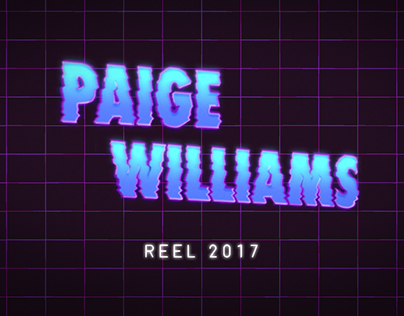 Paige Williams 2017 Demo Reel