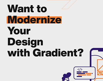 Modernize your Design with Gradient