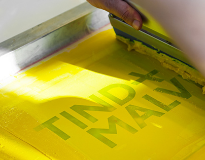 Tind + MALVI - 3 days of screen printing workshop