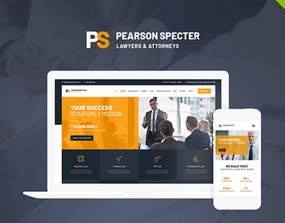 Pearson Specter | WP Theme for Lawyer & Attorney