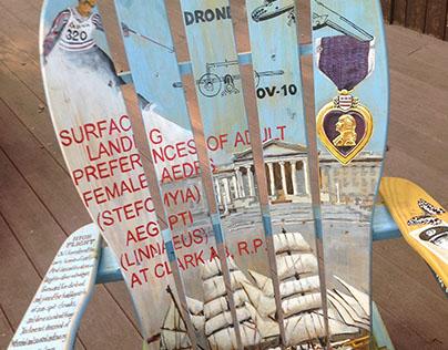 Commemorative Rocking Chair