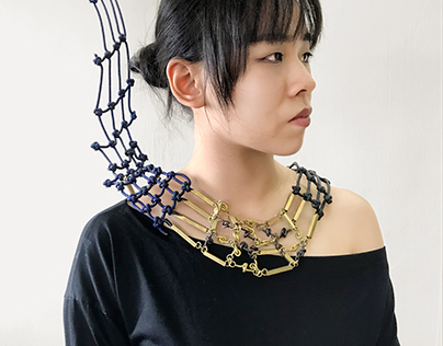 Fabricated Necklace