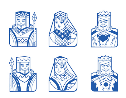 Playing cards Characters