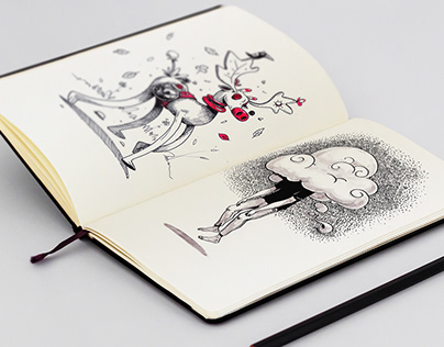 Sketchbook 2019 - 1