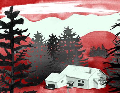 Theatre Illustration: Tumbling Inn
