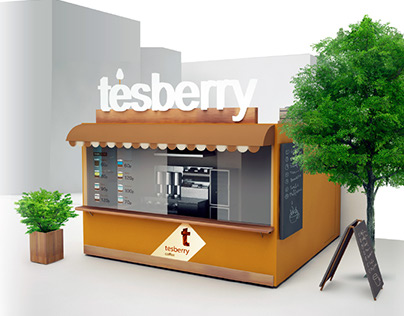 Tesberry / Фирменный стиль