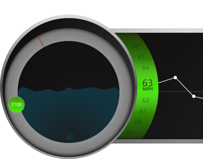 MBRDNA Speedometer Design
