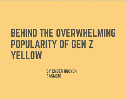Yellow - Trend Studies