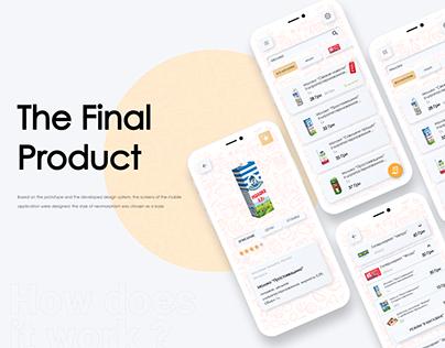 Improve market Mobile app