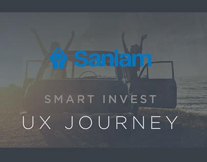 Sanlam Investments - Smart Invest UX journey