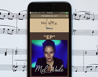Mel Wade Music Website