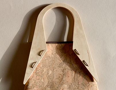 Wood and Cork | Tote bag