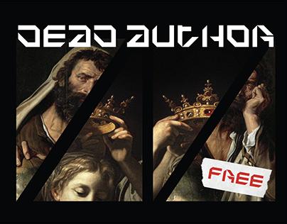 DEAD AUTHOR - Free font