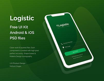 Free UI Kit 02 - Wave Logistic