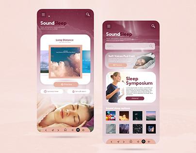 Sound Sleep app