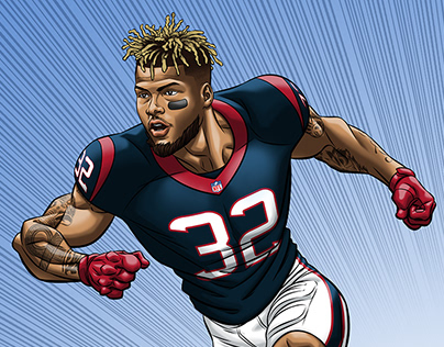 NFLPA Community MVP illustrations