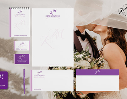 Branding identity The Wedding Photographer