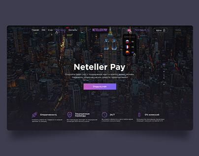 Crypto Bank Service Website