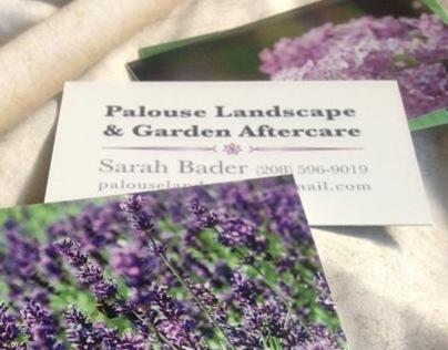 Palouse Landscape & Garden Aftercare Business Cards