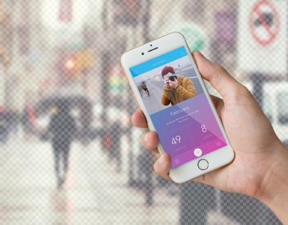 Transparent Iphone Mockup - Free PSD