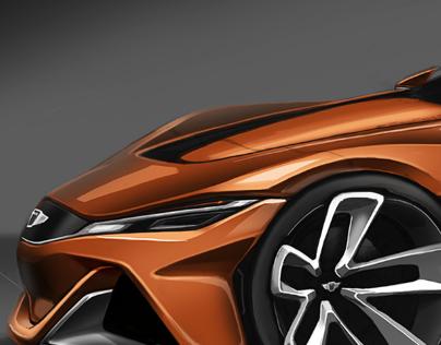Hyundai Genesis Coupe 2025 Sponsored Project