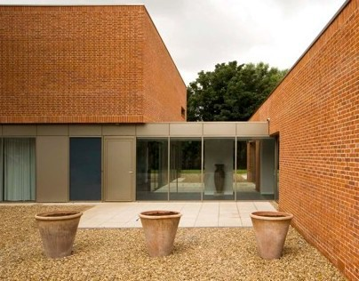Brick House. Alex Franklin For James Gorst Architects.