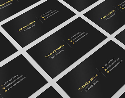Free Minimalistic Business Card Template