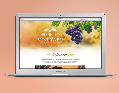 Stories from the Vineyard - Website
