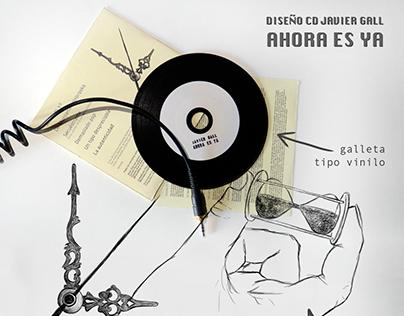 """Diseño CD Javier Gall """"Ahora es ya"""""""