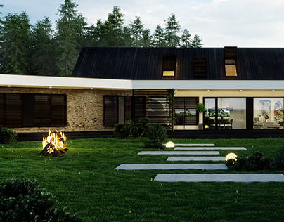 Single House project, Poland.
