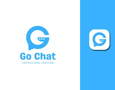 Go Chat App Logo   G letter logo