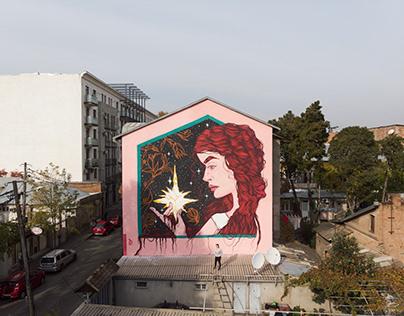 Mural for 'NIKO' street art fest