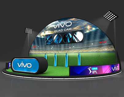 Vivo IPL Quad Cam mall setup