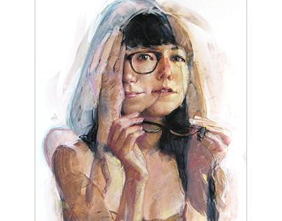 Illusion Portrait Paintng