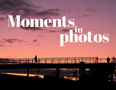 Moments in photos